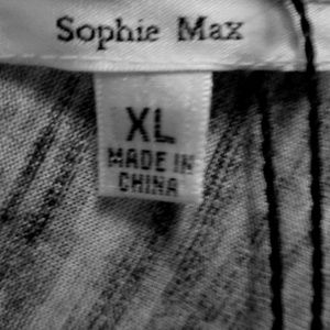 Sophie Max Tops - Sophie Max Heather Gray Top
